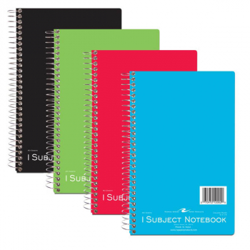 One Subject Small Format Notebook - 80 sheets