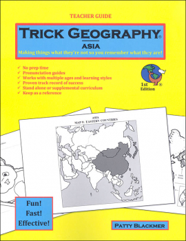Trick Geography: Asia Teacher Guide