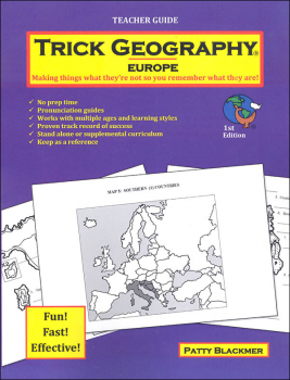 Trick Geography: Europe Teacher Guide