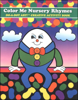 Color Me Nursery Rhymes Creative Art Book
