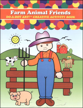 Farm Animal Friends Creative Art Book
