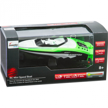 RC Mini Speed Boat, Green