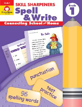 Skill Sharpeners: Spell & Write - Grade 1