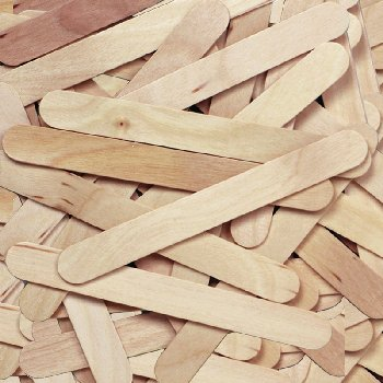 "Craft Sticks - 500 6"" Jumbo Natural"