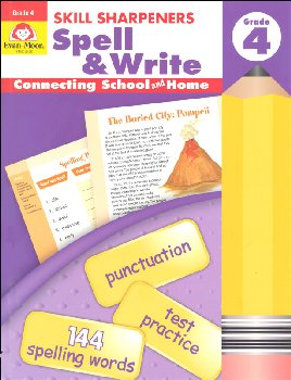 Skill Sharpeners: Spell & Write - Grade 4
