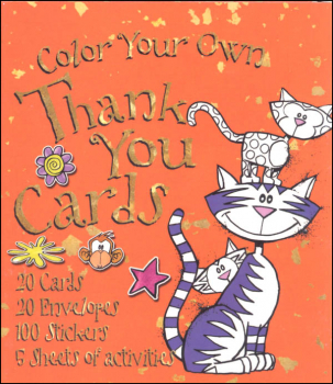 Color Your Own Thank You Cards