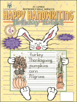 Happy Handwriting Holiday Paper