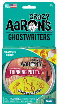 "Secret Scroll Putty 4"" Tin with Glow Charger (Ghostwriters)"
