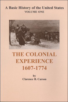 Colonial Experience 1607-1774 (Volume 1)