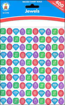 Dazzle Chart Seals Jewels (400 pieces)