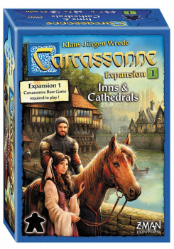 Carcassonne: Inns and Cathedrals Expansion #1