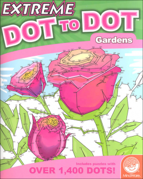 Extreme Dot to Dot Book - Gardens