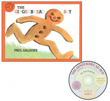 Gingerbread Boy Book & CD