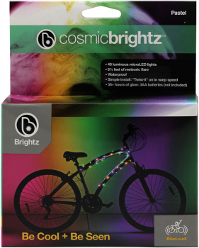 Cosmic Brightz Bike Wrap - Pastel