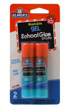 Elmer's Stick Gel  2 count - .28 oz.