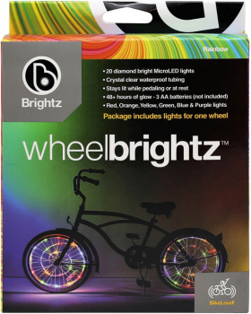Wheel Brightz Bike Tire Lights - Rainbow