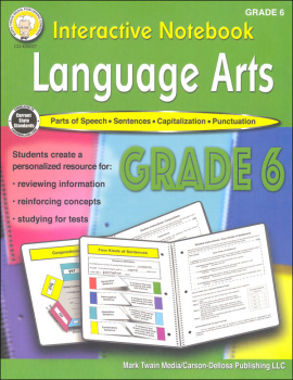 Language Arts Interactive Notebook - Grade 6