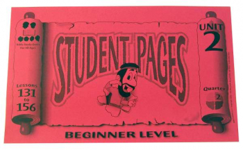Beginner Student Pages for Lessons 131-156