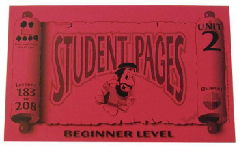 Beginner Student Pages for Lessons 183-208