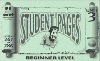 Beginner Student Pages for Lessons 261-286