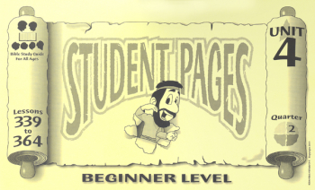 Beginner Student Pages for Lessons 339-364