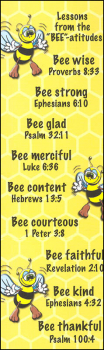 Bee-atitudes Bookmark