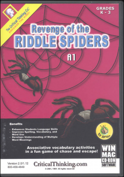 Revenge of the Riddle Spiders A1 Software