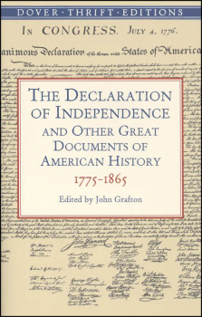 Declaration of Independence:Docs U.S Hist Thr