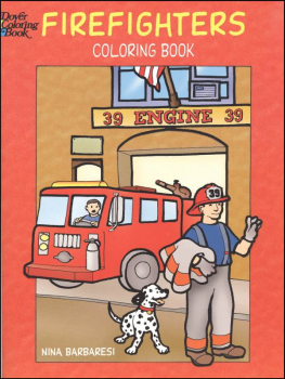 Firefighters Children's Coloring Book