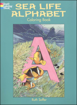 Sea Life Alphabet Coloring Book