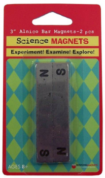"Alnico bar Magnets (two 3"" magnets)"