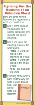 Vocabulary Smart Bookmark