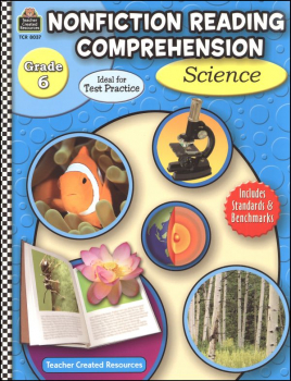 Nonfiction Reading Comprehension Science Grade 6