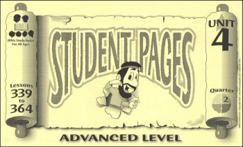 Advanced Student Pages for Lessons 339-364
