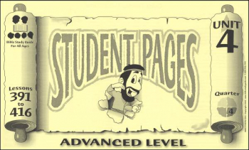 Advanced Student Pages for Lessons 391-416