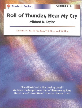 Roll of Thunder, Hear My Cry Student Pack