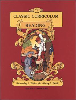 Classic Curriculum Reading Series Series 4 Workbook 1