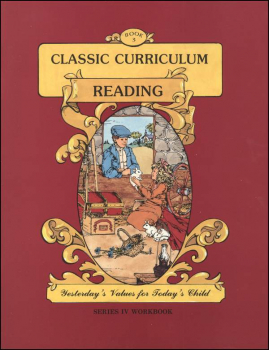 Classic Curriculum Reading Series Series 4 Workbook 3