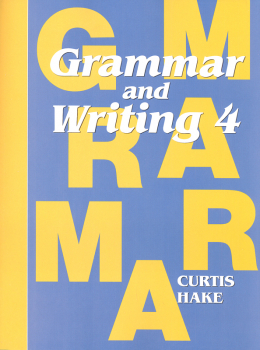 Grammar & Writing 4 Student Textbook