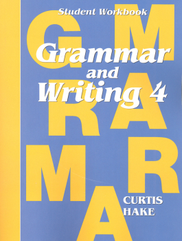 Grammar & Writing 4 Student Workbook