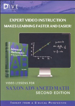 D.I.V.E. CD-ROM for Saxon Advanced Math 2nd Ed. Win/Mac