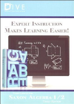 D.I.V.E. CD-ROM for Saxon Algebra 1/2 3rd Ed. Win/Mac