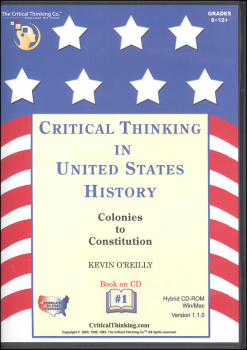 Critical Thinking in US History 1 CD