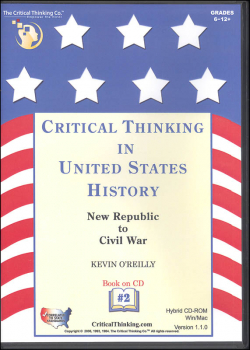 Critical Thinking in US History 2 CD