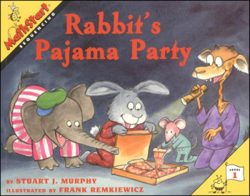 Rabbit's Pajama Party (MathStart L1:Sequencng