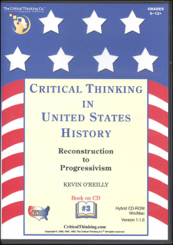 Critical Thinking in US History 3 CD