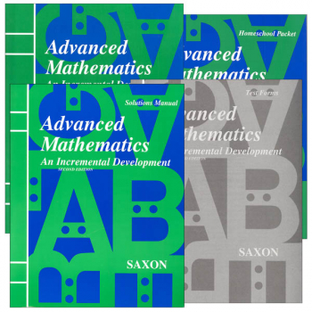 Advanced Math Homeschool Kit with Solutions Manual 2nd Edition