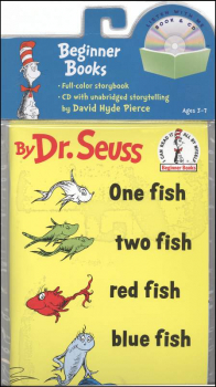 One Fish, Two Fish, Red Fish, Blue Fish (Book and CD)