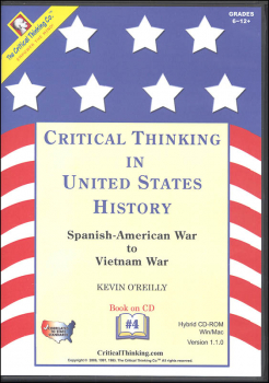 Critical Thinking in US History 4 CD