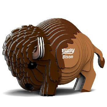 Eugy 3D Bison Dodoland Model
